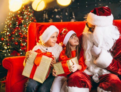 Não há problema se as crianças acreditam em Papai Noel
